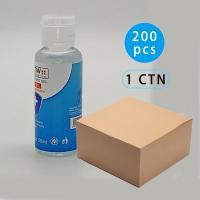 2 oz small 50ml packet anti bacterial hand gel sanitizer bulk 75% Alcohol Gel liquid hand sanitizer gel 75% Alcohol Hand Sanitizer Gel 200pcs Air shipping to Japan, Sea Freight To USA, European